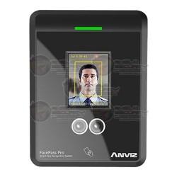 Control de Acceso / Asistencia / Sistema FacePass Pro / Reconocimiento Facial / 400 Usuarios / 100,000 Registros / Tarjetas RFID