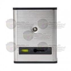 Botón de Pánico / Restablecimiento Manual / Cubierta Metálica