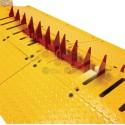 Accesorio para Barrera Mod. 1603-180 / Seccion de Picos Poncha Llantas / 3ft / 90 cm / Sobreponer