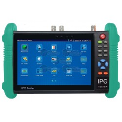 "Probador de Video / Pantalla LCD / 7"" / IP / HD-TVI (TurboHD) / Análogo / ONVIF / Wi-Fi / Scanner IP"