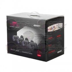 Kit / 4 Cam / Bullet / TurboHD 720p / DVR Full HD Cloud EZVIZ P2P / Fuente de Poder / Cables de 18 Mts