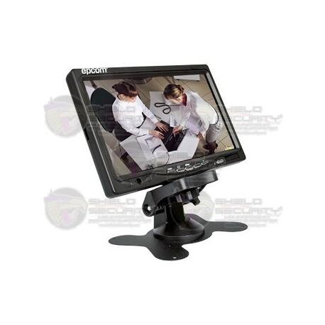 """Monitor LCD / 7"""" / Ideal para Vehículos / Realizar pruebas de CCTV"""