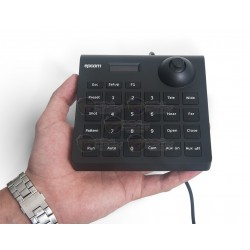 Mini Teclado / Controlador PTZ / Pantalla LCD / Joystick / Altamente Resistente
