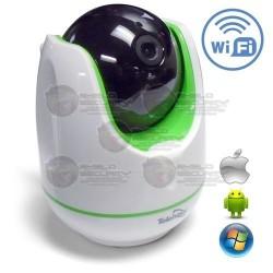 Cámara IP / PT / 960p / 1.3Mpx / WiFi / Alarma / Audio Mejorado / P2P / IR 10 Mts. / Detección de Movimiento / ONVIF