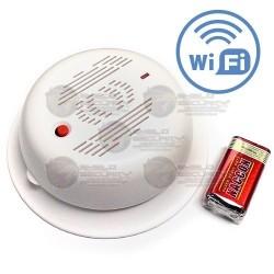Detector de Humo / WiFi / Sirena 85dB / Cubre 20 m2 / Incluye Batería / Para KIT PT Wireless P2P