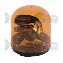 Sirena / Luz Giratoria / SENTRY / con Reflector Tipo Parabólico / 95 FPM / Color ámbar.