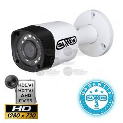 Camara / Bullet / HDCVI / 720p / TVI / AHD / CVBS / Lente Fijo 2.8mm / 0.05 Lux / Smart IR 20 Mts. / Smart IR / IP 67 / Menu OSD