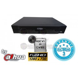 DVR / 8 CH / TriHibrido / 720p / P2P / Hasta 6 TB / 2 CH IP / HDMI / Audio