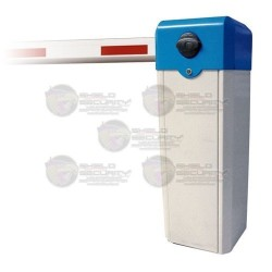 Barrera Vehicular / Derecha / 1 Seg. / Brazo 3 Mts. / Color Azul y Blanco
