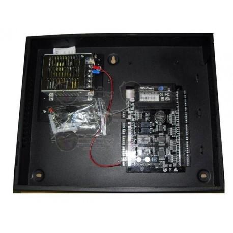 Control de Acceso P/ 2 Puertas y 4 Lectoras / 30,000 Tarjetas / 100,000 Registros / TCPIP/ Wiegand