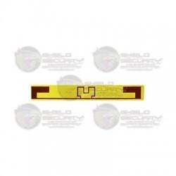 Tag Adherible / RFID / Para Automóvil / EPC / GEN2