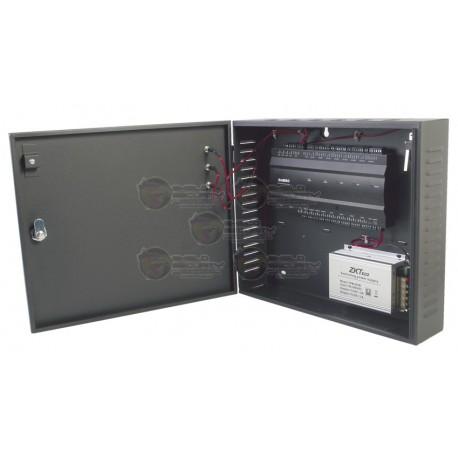 Panel de Control de Acceso / 4 Puertas / 20,000 Huellas / 30,000 Tarjetas / Incluye gabinete y fuente de alimentación