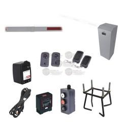 Kit Barrera Izquierda XB / 5 Mts. / Iluminación LED Rojo / Accesorios