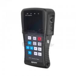 """Probador de Video con Pantalla LCD de 2.8"""" / Video Analógico / Probador UTP / Control PTZ"""