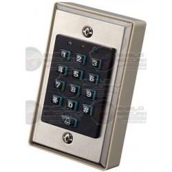 Teclado / Controlador / Standalone / Apertura de Puerta / Soporta 250 contraseñas / 12VDC