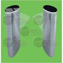 Flap Barrier / Control Acceso / Incl. Panel INBIO260 Pull SDK / 20,000 Huellas / Lector FR1200ID / Cubierta Superior de Cristal