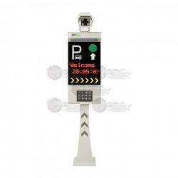 Camara LPR / Todo Integrado para Reconocimiento de Placas / Camara IP / Pantalla LCD / Luz LED Integrada / Un Carril