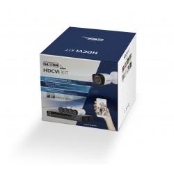 Kit 8CH / Pentahibrido / HDCVI / 720p / H.265 / 2CH IP 8+2 / P2P / 8 Cams BF2810T / IR 20 Mts. / IP67 / Accs.