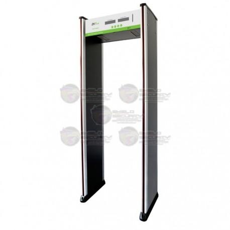 Arco / Detector de Metal / 6 Zonas / Contador de 5 Digitos / Indicadores LED en Ambas Vistas / Alta Sensibilidad