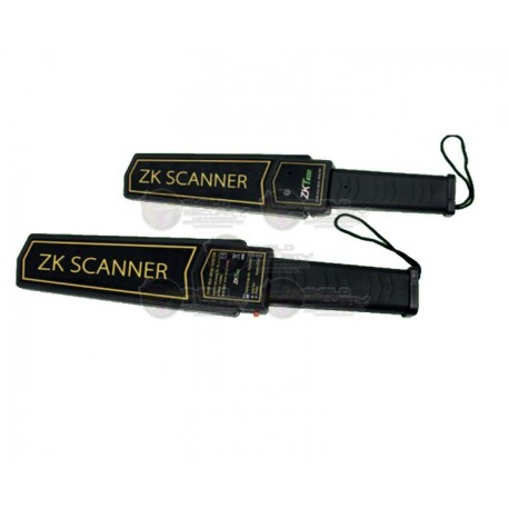 Detector de Metal Portatil / Baterias 9V / Alarma Audible y de Luz / 75 DB / Puerto USB