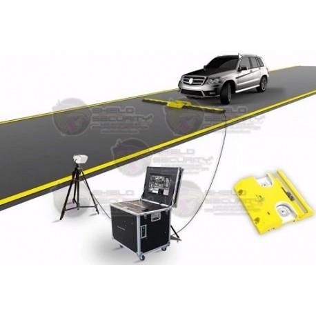Sistema de Inspeccion Vehicular / Hasta 30 Toneladas / Incluye Escaner, Caja de Monitoreo y Reductor de Velocidad / Camara IP ZK