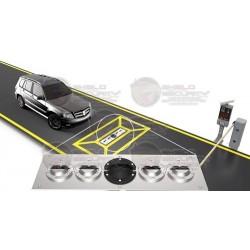 Sistema de Inspeccion Vehicular / 50 Toneladas / Incluye Escaner, Caja de Distribucion y Escritorio de Monitoreo / Camara IP ZK