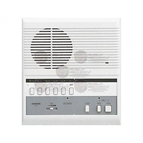 Intercomunicador / Estacion Maestra / PTT / Led Indicador / Voz y Tono / Hasta 6 Estaciones