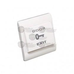 Boton Liberador / Plastico / Controles de Acceso / Funcion NO / Compatible con caja ABK800BP/ MBB8008P