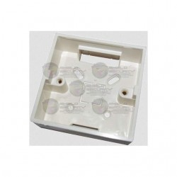 Caja para Instalacion de Boton Liberador / Plastico / Compatible con Boton PBK812