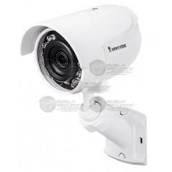 Camara / Mini Bullet IP / Exterior / 2MP Full HD / IR 12 Mts. / 3.6 MM / SNV / Smartstream II / IP66 / DWDR / Micro SD