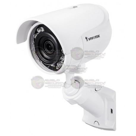 Camara / Mini Bullet IP / Exterior / 2MP Full HD / IR 12 Mts. / 3.6 MM / SNV / Smartstream II / IP66 / DWDR / Micro SD