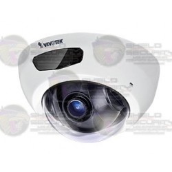 Camara / Mini Domo IP / Interior / 2MP / Full HD / IR 6 Mts. / POE / SNV / Audio / DWDR / Smart Stream II / Micro SD