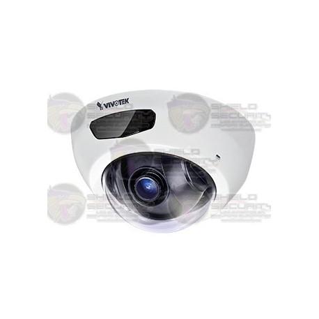 Camara / Mini Domo IP / Interior / 2MP / Full HD / IR 6 Mts. / POE / SNV / Audio / DWDR / Smart Stream II / Micro SD