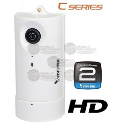 Camara / IP / Interior / 1MP / HD / 180º Grados / H.264 / POE / Audio
