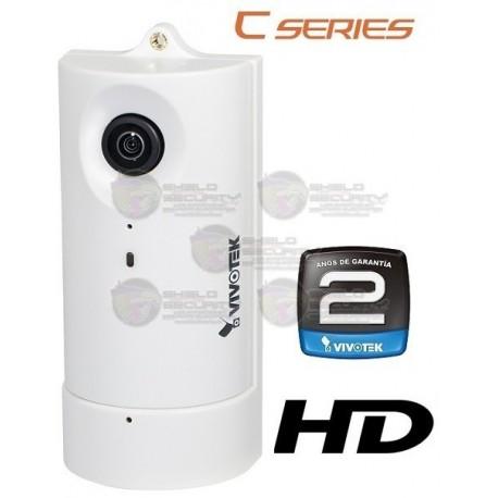 Camara / IP / Interior / 1MP / HD / 180º Grados / H.264 / POE / Audio