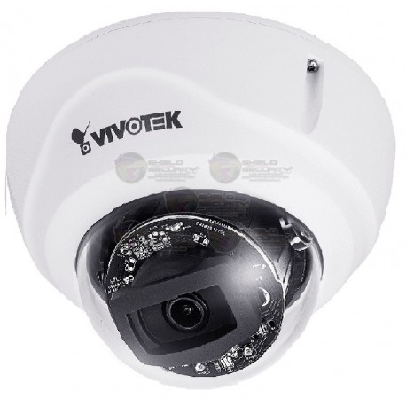 Camara / Domo IP / Exterior / 2MP / H.265 / WDR Pro / Smart 30 Mts. / Smart Stream III / 2.8 MM / IP66 / IK10 / SNV