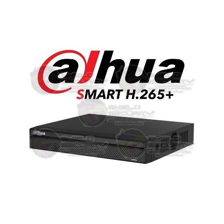 DVR / 8 CH / HDCVI / Pentahibrido / 1080p / 4MP Lite / 720p / 4 CH Add 8+4 / IVS / SATA hasta 10 TB / P2P / Smart Audio