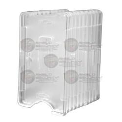 Porta Tarjeta / Plástico ABS / Transparente