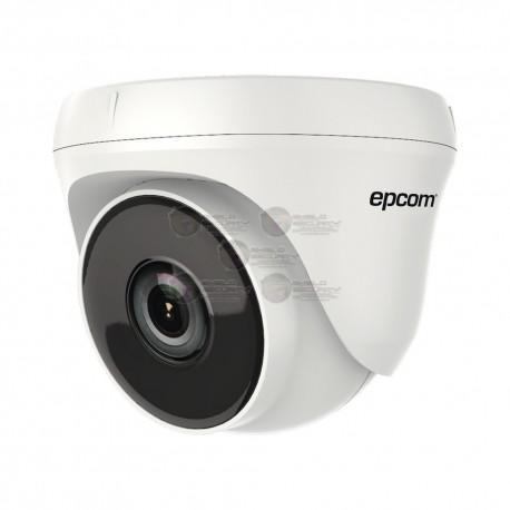 Camara Domo / Eyeball TURBOHD 720p / Gran Angular 92º / 2.8 mm / IR EXIR Inteligente / 20 mts / Interior / dWDR