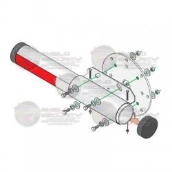 Kit de instalación para brazo de aluminio