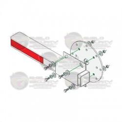 Kit de instalación para brazo de plástico