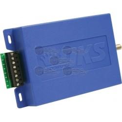 Receptor Inalámbrico / Wiegand / Control de Acceso / DKS MicroPlus / Hasta 5300 Transmisores en modo Stand Alone