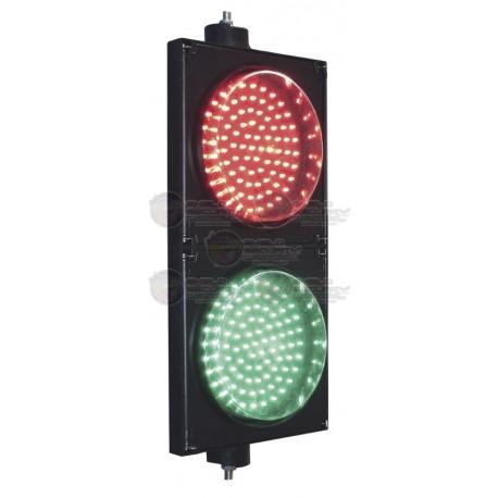 Semáforo de Señalización Rojo y Verde