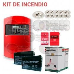 Kit de Sistema de Detección de Incendio / Kit Completo Basico