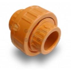"""Conector / Plastico / 3/4"""" / CPVC / Pack 10 Pzas / Baja Presión / Sistemas de Aspiración"""