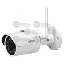 Camara / IP / Bullet / 3 MPX / WiFi / Lente 2.8mm / Angulo de 100º / Luz IR 30 Mts. / IP 67 / ONVIF / Ranura SD