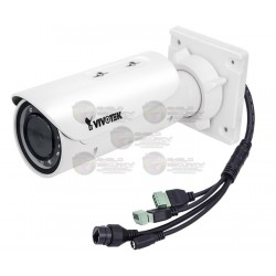 Camara / Bullet IP / Exterior / 3 MPX / Full HD / Smart IR 30 Mts. / WDR Pro / Varifocal / Smart Stream II / Enfoque Remoto
