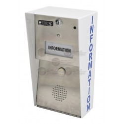 Estación de Información / Llame al Centro de Control con un Solo Botón