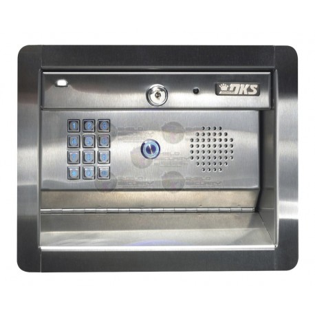 Access PLUS DKS / Atienda la puerta aún sin estar en casa! / Interfon Telefónico / Control de Acceso / 2 Puertas