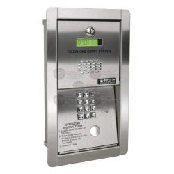 Audioportero Telefónico / 600 No. Telefónicos / Control para 2 puertas / Empotrable
